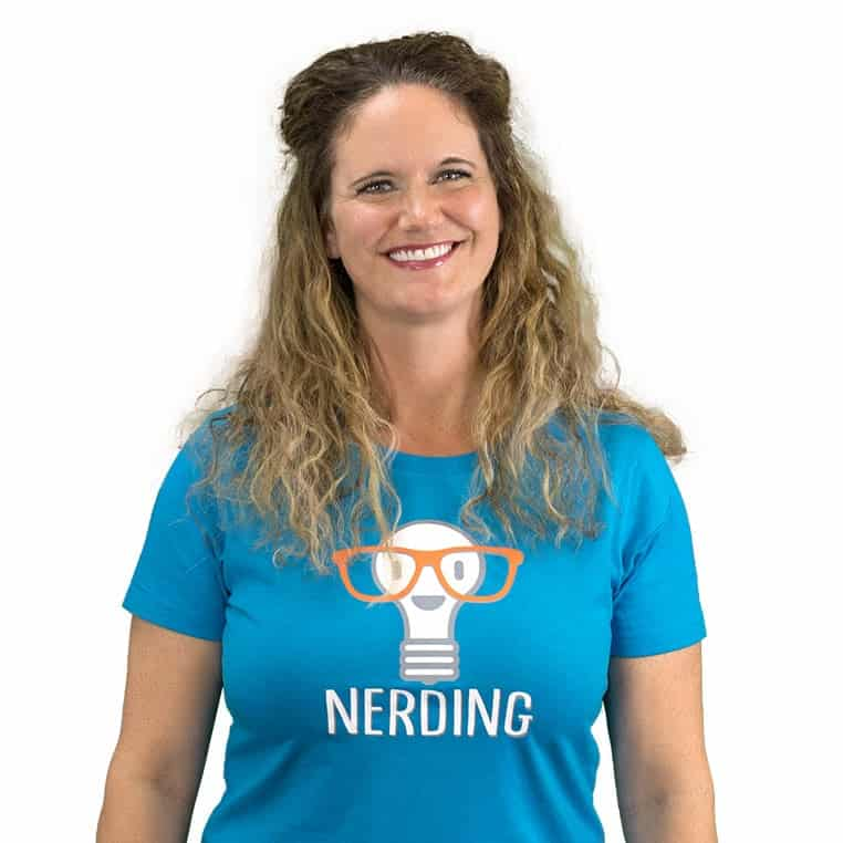 Nerding Teacher Erin Martin