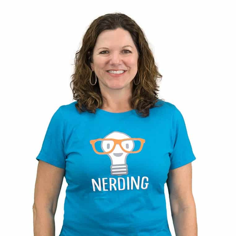 Nerding Teacher Lisa Kiefer
