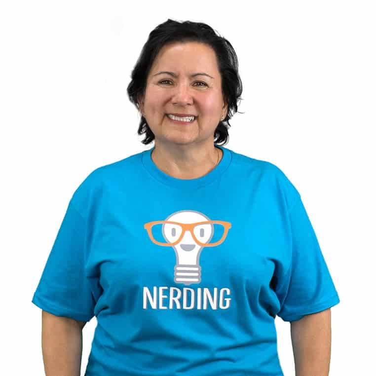 Nerding Teacher Liza Richards
