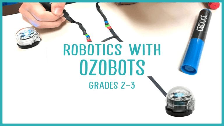 ozobot STEM summer class coding