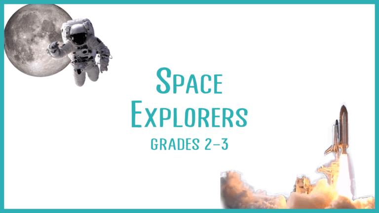 space nerds STEM class