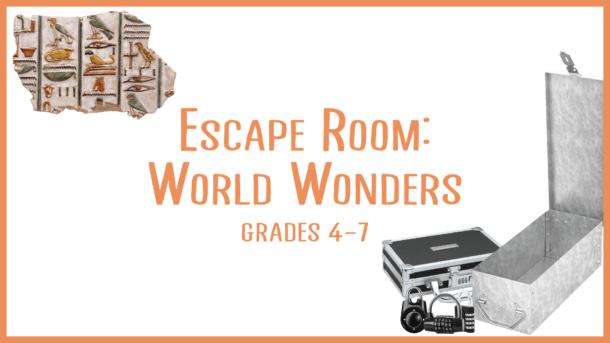 Escape Room World Wonders