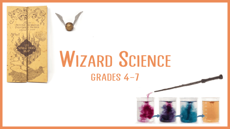 wizard science STEM summer class
