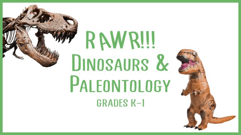 dinosaurs paleontology nerd STEM