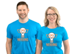 """Micah and Niecy from Nerding: """"Feel free to contact us with any questions!"""""""