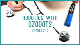 ozobot STEM summer class coding